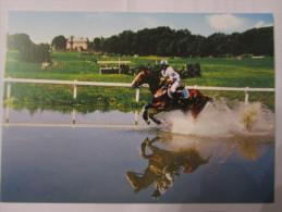 épreuve De Concours Complet Hippodrome De Pompadour. Passage Du Gué - Horses