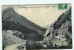CLELLES - Route De Clelles à Chichilianne Animée  - 2 Scans - Clelles