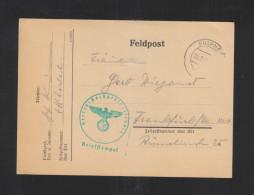 Dt. Reich Österreich Feldpost 1942 Heeres-Hochgebirgsschule Fulpmes - Briefe U. Dokumente