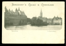 ANSICHTKAART * CPA * Cacao & Chocolade Bensdorp Publicité  Vijverberg  (3763s) - Reclame