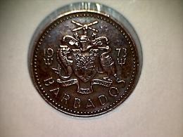 Barbados 1 Cent 1973 - Barbades