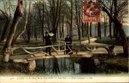 69 / Rhône - LOT De 18 Jolies Cpa Colorisées - LYON / Verso Tour Fourvière : Cachet Escadron Du Train P.C.A Dépot - Lyon