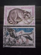 FRANCE N°1754 Et 1755 Oblitéré - Frankreich