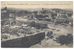 Maroc - Colonne De Taza - Les Troupes Campant Dans L'enceinte De La Ville - Maroc