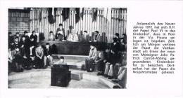 16644. Postal VATICANO. Papa Pablo VI Con Niños En 1972 - Vaticano (Ciudad Del)