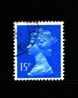 GREAT BRITAIN - 1989  MACHIN  15p.  CB  FINE USED  SG X905 - Machins