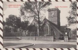 6AI287  JERSEY SAINT HELIER TOWN CHURCH EGLISE PAROISSIALE 2 SCANS - Jersey