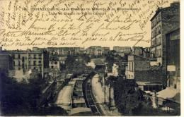 Les Hauteurs De Belleville Et De Ménilmontant-Ligne De Chemin De Fer De Ceinture No 244 - Arrondissement: 20