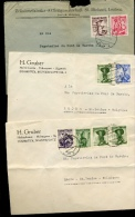 3 Lettres  1951 1954   Costumes  Trachten - 1945-.... 2nd Republic