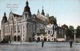 Germania - Cartolina Antica KÖLN A. RHEIN NEUES THEATER 1906 - L96 - Germania
