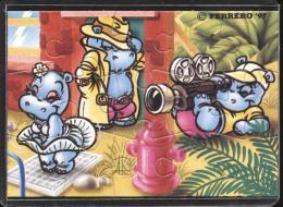 Europe 1997 - Ferrero - Cartoons, Cinema / Movies, Hippo, Marilyn Monroe - Francobolli