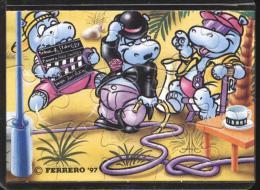 Europe 1997 - Ferrero - Cartoons, Charlie Chaplin, Cinema / Movies, Hippo - Francobolli