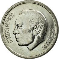 Monnaie, Maroc, Al-Hassan II, Dirham, 1974, TTB+, Copper-nickel, KM:63 - Maroc