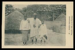 GUINÉ -BISSAU - COSTUMES - Mamadou Alfá, Roi De Dandum( Ed. D. A. Longuet Nº 65) Carte Postal - Guinea-Bissau