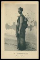 GUINÉ -BISSAU- COSTUMES - Mamadou Alfá, Roi De Dandum ( Ed. D. A. Longuet Nº 57) Carte Postal - Guinea-Bissau