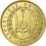 Monnaie, Djibouti, 20 Francs, 1977, FDC, Aluminium-Bronze, KM:E5 - Djibouti
