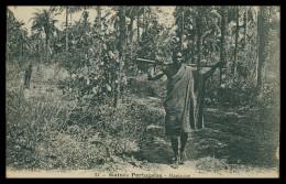 GUINE-BISSAU - COSTUMES - Manjaque   ( Ed. Catala Nº 21) Carte Postal - Guinea-Bissau