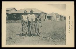 GUINE-BISSAU - COSTUMES - Jeunes Femmes ( Ed. D. A. Longuet Nº 82) Carte Postal - Guinea-Bissau