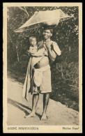 GUINÉ-BISSAU - COSTUMES - Mulher Papel  Carte Postal - Guinea-Bissau