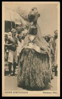 GUINÉ-BISSAU - COSTUMES - Manipanço Nalu ( Ed. Neogravura Lda. ) Carte Postal - Guinea-Bissau