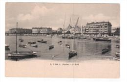 GENEVE, Switzerland, 1900-1910's; Le Port - GE Ginevra