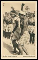 GUINÉ-BISSAU - COSTUMES - Batuque Entre Manjacas  Carte Postal - Guinea-Bissau