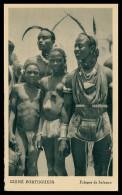 GUINÉ-BISSAU - COSTUMES - Felupes De Junfunco Carte Postal - Guinea-Bissau