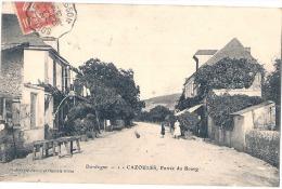 CAZOULES  Entrée Du Bourg TTB - Sonstige Gemeinden