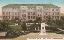 Oschersleben  (bode)   Neue Schule Mit Bismarckstein  Réf 1134 - Oschersleben