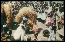 BISSAU - COSTUMES - Dança Do Compó ( Bissau) (Ed. Foto Serra Nº 113)carte Postal - Guinea-Bissau