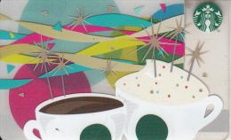 FRANCE - Happy Birthday, Starbucks Card, CN : 6109, Unused - Gift Cards