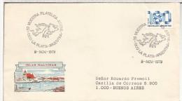 ARGENTINA LA PLATA 1979 ISLAS MALVINAS FALKLANDS - Filatelia Polar