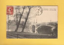 * CPA..dépt 92..SURESNES  :  Bords De Seine - Un Coin Du Pont : Voir Les 2 Scans - Suresnes
