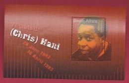 SOUTH AFRICA, 2003, MNH Block (miniature Sheet) , Chris Hani,  Sa 1536, #9007 - South Africa (1961-...)