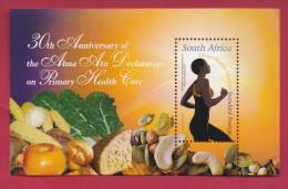 SOUTH AFRICA, 2008, MNH Block (miniature Sheet) , Alma Alta Declaration,  Sa 1899, #9023 - South Africa (1961-...)