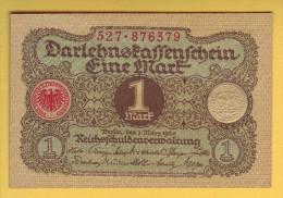 ALLEMAGNE - Billet De 1 Mark. 1920. Pick: 58. NEUF - [ 3] 1918-1933 : Weimar Republic