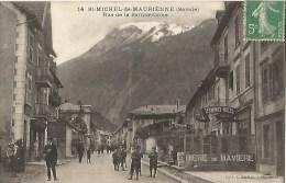 73st Michel De Maurienne Rue De La Samaritaine Animée - Saint Michel De Maurienne