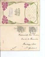 Belgique ( Carte De Voeux De 1912 De Nil-Saint-Vincent -Saint-Martin  Vers Saint-Ghislain à Voir) - Bélgica