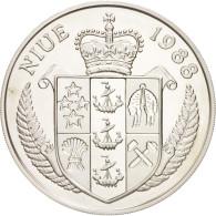 Niue, 50 Dollars 1988, Tennis - Steffi Graf 1987, KM 13 - Niue