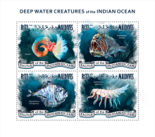 MALDIVES 2014 - Giant Isopod - YT 4297-4300; CV = 16 € - Schaaldieren