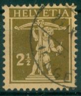 Schweiz 1928 / MiNr.  198 X   O / Used   (s157) - Usados