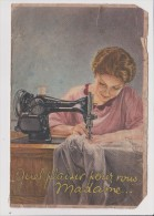 Publicité Ancienne Sur Papier - Machine A Coudre éléctrique SINGER - Quel Plaisir Pour Vous Madame... - Publicités