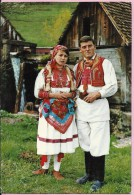 Folk Costumes From The Surroundings Of  Zagreb, 1974., Yugoslavia (1148) - Europe