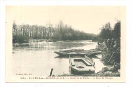 CHAMPS Sur MARNE   (seine Et Marne )  Bords De La Marne Le Trou De Champs - Other Municipalities