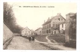 CHAMPS Sur MARNE   (seine Et Marne )   LA BUTTE - Other Municipalities