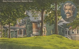 CPA-1939-USA-CONNECTICUT-HARTFORD-MARK TWAIN MEMORIAL-ECRIVAIN De Tom Sailer--TBE - Hartford