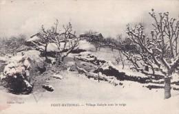 FORT NATIONAL VILLAGE KABYLE SOUS LA NEIGE (DIL137) - Algiers