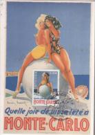MONACO  Quelle Joie De Vivre à Monte Carlo  3/05/04 - Cartas Máxima