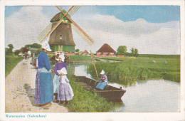 Holanda--1951--Edam-Volendam--Watermolen-- - Molinos De Viento