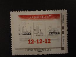 "2012 EMISSION DU CARRE D'ENCRE "" LE CARRE D'ENCRE 12 12 12"" Lettre Prioritaire 20g ADHESIF ISSU DE COLLECTOR - Personalizzati (MonTimbraMoi)"